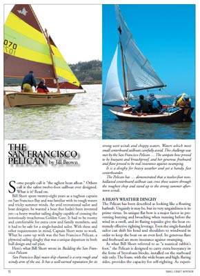 Pelican Sailboat Article Compilation Download