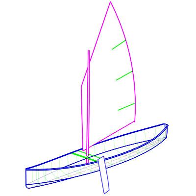 Kombi Paddle/Sail Canoe Plans