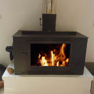 Effecient, Fan Assisted Wood Stove Plans