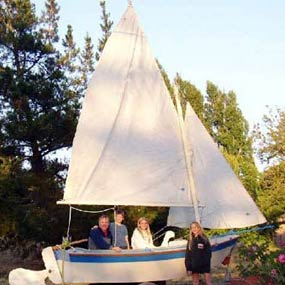12 Foot Pelican Sails
